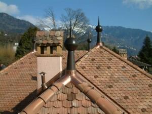 Paratonnerres installés à Montreux