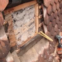 Lors de la prise de mesures nous faisons un sondage dans la toiture pour déterminer toutes les couches dans le but de faire un calcul thermique