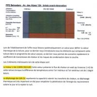 Calcul thermique avant la rénovation