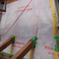 Pour ne pas avoir d'humidité dans les couches toutes les pénétrations doivent être soingeusement raccordées